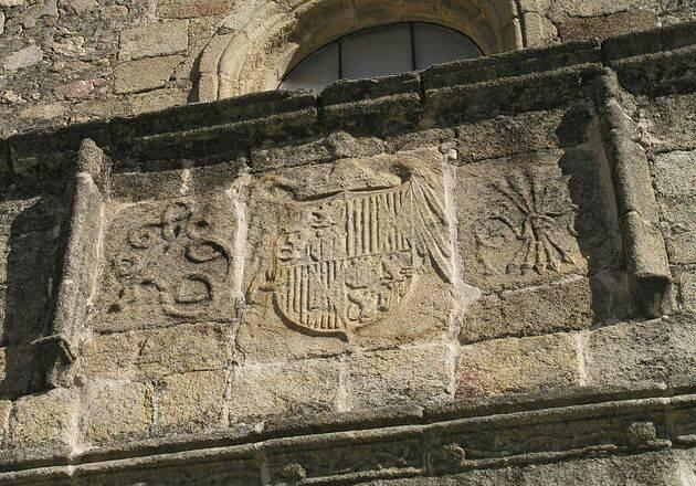 Nudo gorsiano en  Iglesia de Santiago, Losar de la Vera (Cáceres). / Luis Fernández García. Wikipedia.,