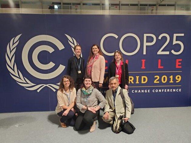 Miembros del Programa Cristiano de Observadores del Clima en la COP25. / CCOP,