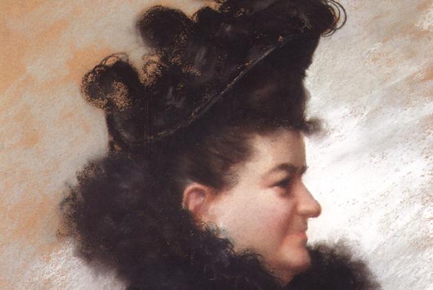 Retrato de Emilia Pardo Bazán, por Joaquín Vaamonde Cornide. / Wikimedia Commons,