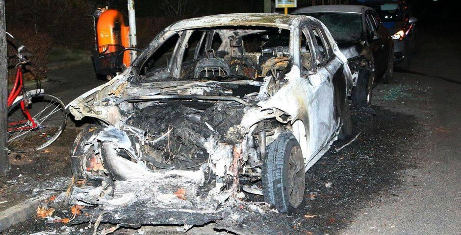 El auto de Gunnar Schupelius quemado. / LifeSiteNews,