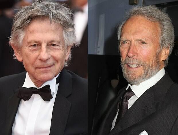 Si Eastwood es objeto de polémica por sus ideas reaccionarias, Polanski lo es por el comportamiento inmoral que tuvo en su juventud.
