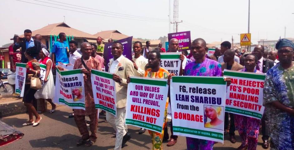 Hasta 5 millones de personas se han manifestado contra el asesinato de cristianos en Nigeria. / CAN,