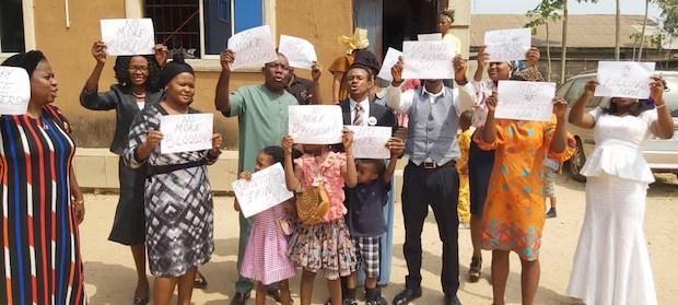 Según el presidente Buhari, los cristianos representan el 45% de la población en Nigeria.