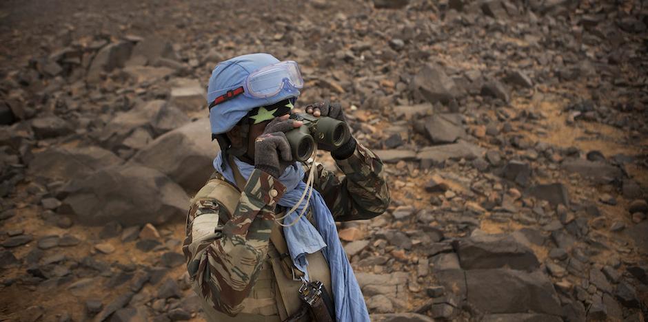 Un soldado de la misión de la ONU en Mali, el tercer país africano donde más efectivos ha perdido la organización internacional. / MINUSMA,
