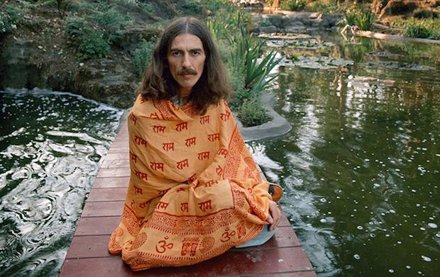 George Harrison buscó en la espiritualidad oriental el sentido a su vida.