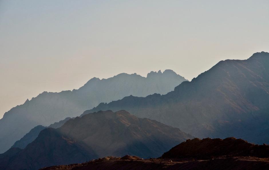 Los montes de transjordania, en la actual Jordania. / Ursula Hutter,