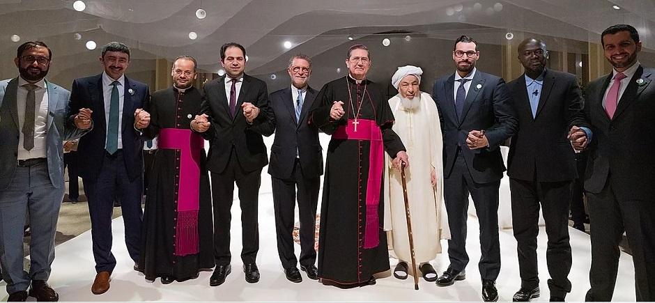 Los miembros del equipo de liderazgo del Comité Superior para la Fraternidad Humana. / HCHF,