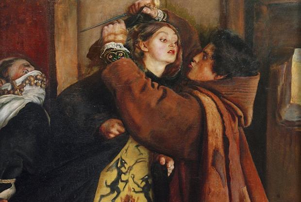 Ana Enríquez, que la relación del auto de fe llama moza hermosa, el historiador Llorente dice que había leído a Calvino y Ponce de la Fuente, aunque no tenía más que 23 años.