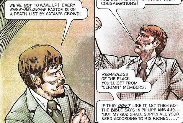 Todd se hace portavoz de los miedos del cristianismo conservador estadounidense, que favoreció la elección de Reagan.