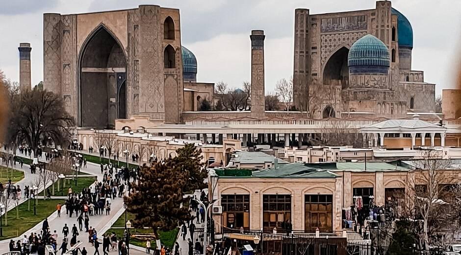 """Vista de Tashkent, capital de Uzbekistán./<a target=""""_blank"""" href=""""https://unsplash.com/@jst_yumi"""">Yumi Kim </a>, Unsplash CC,"""