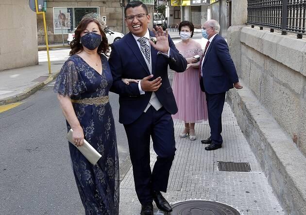Una boda ejemplar en tiempos de covid-19