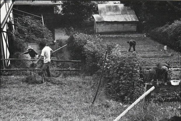 En L'Abri se hacía trabajo manual cuatro horas por las tardes.