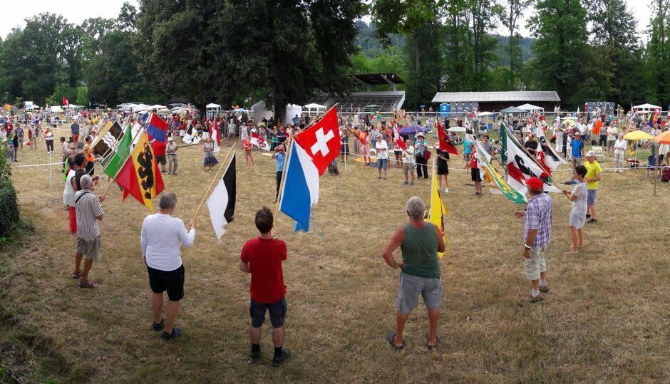 Todos los cantones suizos han estado representados en el Día Nacional de Oración. / Facebook Prière pour la Suisse,
