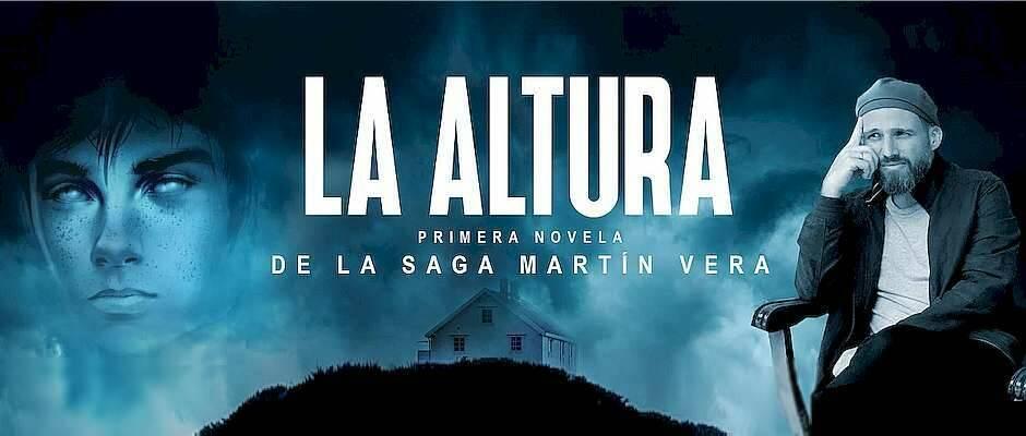 Portada del libro y el autor,Juan Carlos Parra, La Altura