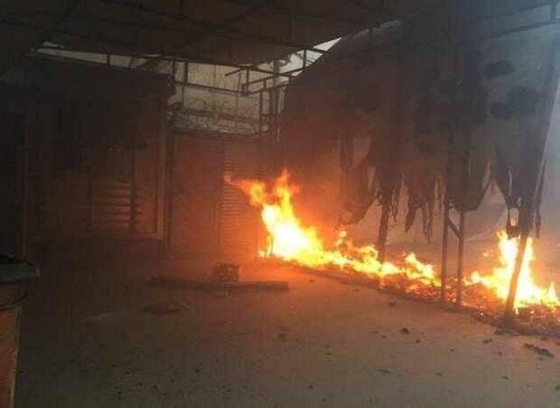 Un gran incendio quema el campo de refugiados de Moria, donde vivían 13.000 personas