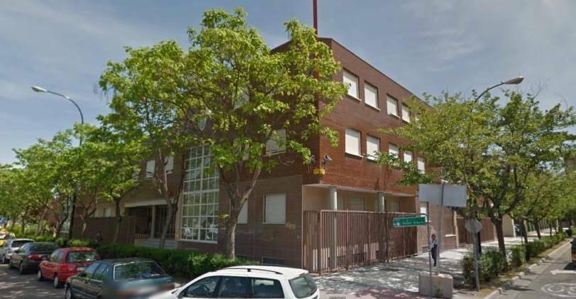 Iglesia evangélica en Zaragoza.,