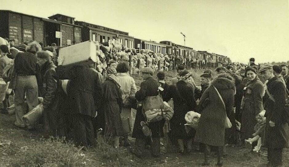 Judíos neerlandeses dirigidos a campos de concentración
