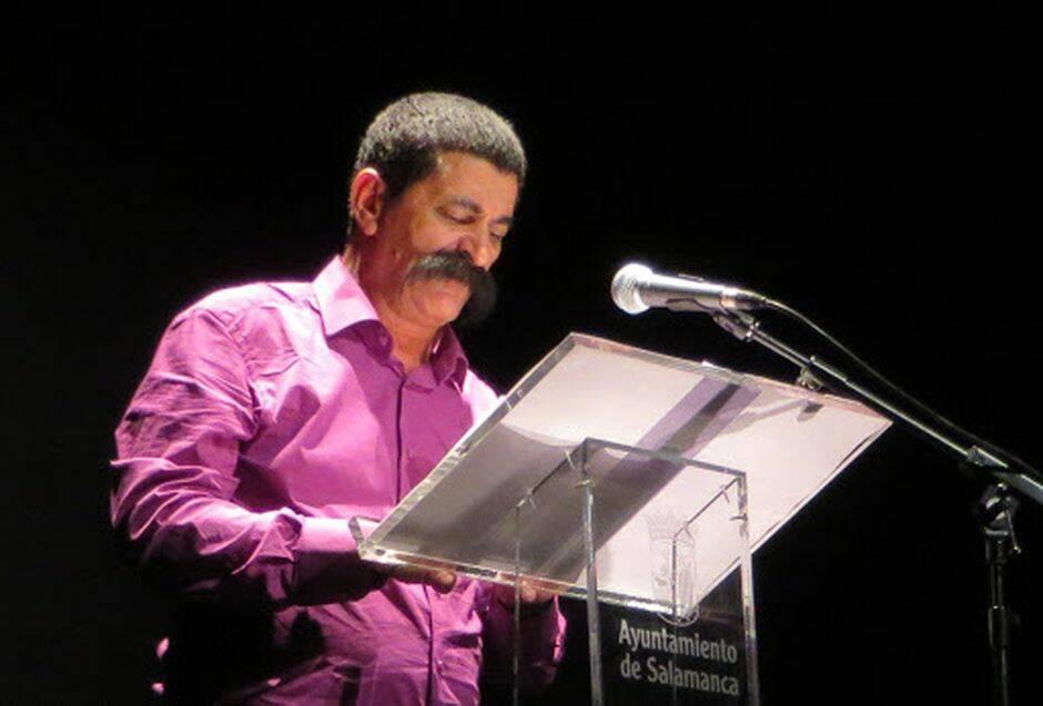 El poeta Juan Mares. / Foto de Jacqueline Alencar.,
