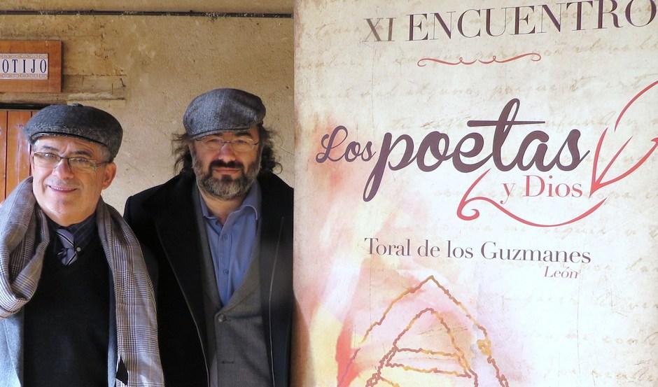 Manuel Corral y Alfredo Pérez Alencart, directores del encuentro. / Jacqueline Alencar,