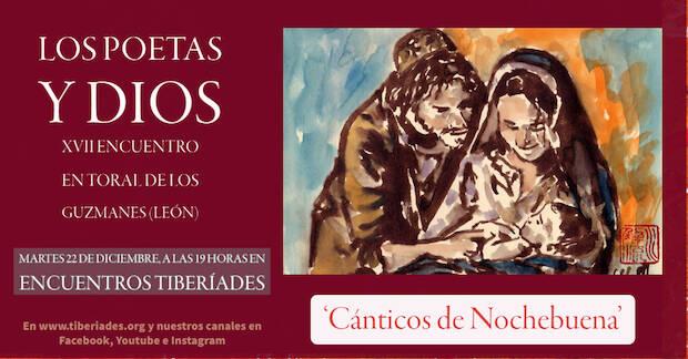 El encuentro 'Los poetas y Dios' celebra su XVII edición de forma virtual y con el lema 'Cánticos de Nochebuena'