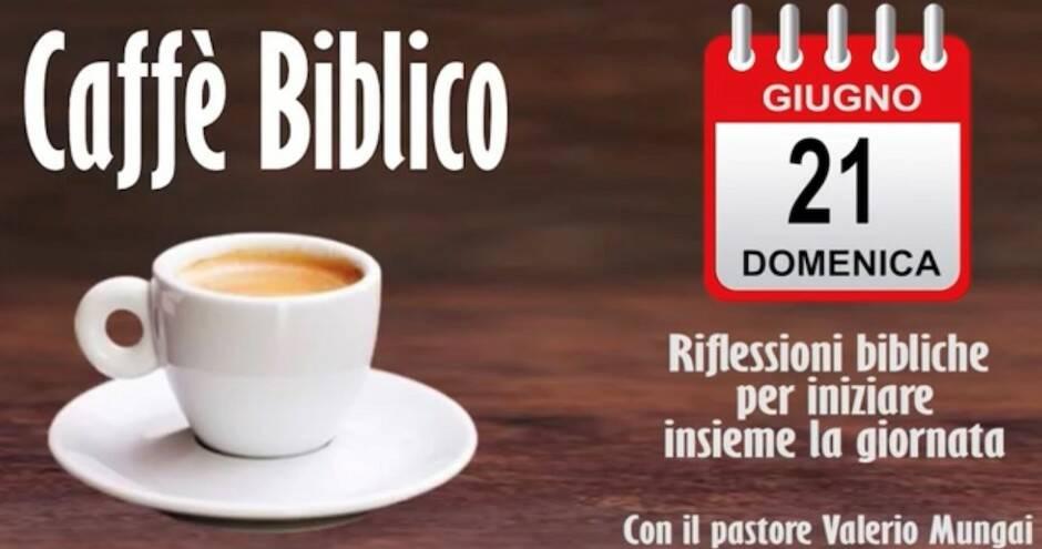A través de Youtube, miles de personas están conectando con el Caffe Biblico en Italia.,