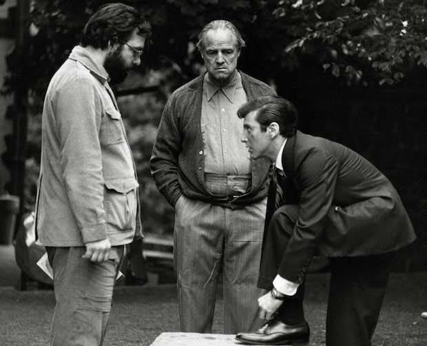 Coppola se pelea con el estudio para que Brando y Pacino protagonizaran la película.