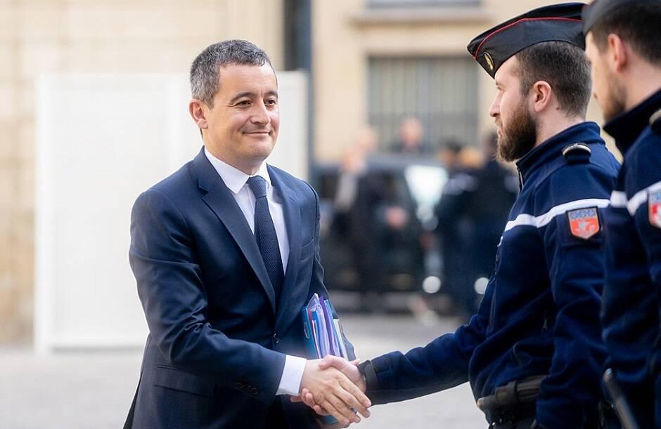 El ministro de Interior francés, Gérald Darmanin. / Jacques Paquier, Wikimedia Commons,