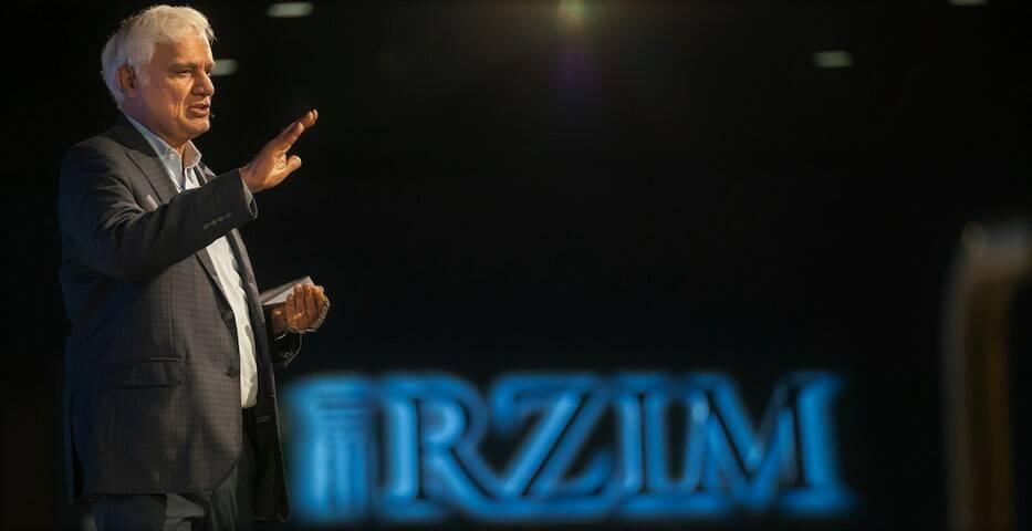 Ravi Zacharias, en una conferencia en Georgia. / RZIM,