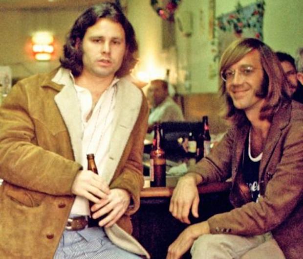 Los Doors nacen del encuentro de Jim Morrison con Ray Manzarek.