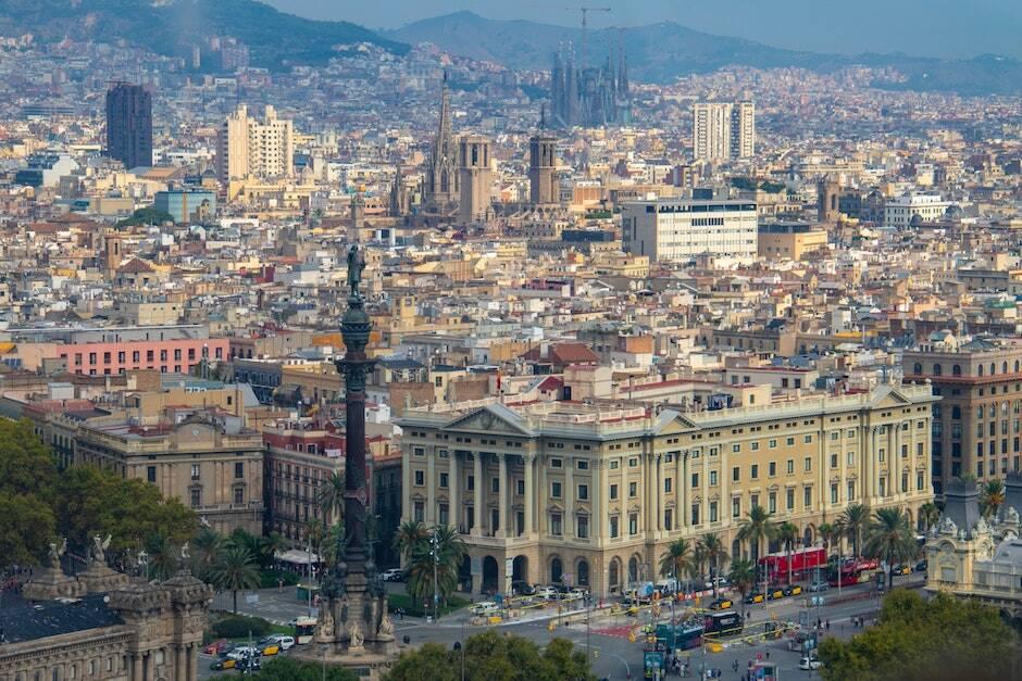 Imagen de la ciudad de Barcelona. / <a target=