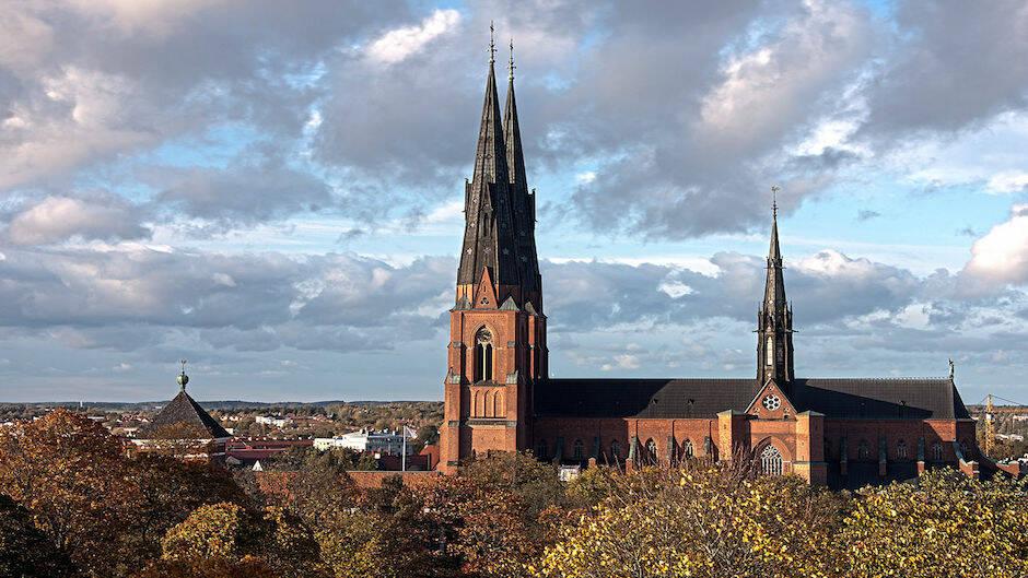 La catedral de Uppsala, sede nacional de la Iglesia de Suecia. / David Castor, Wikimedia Commons,