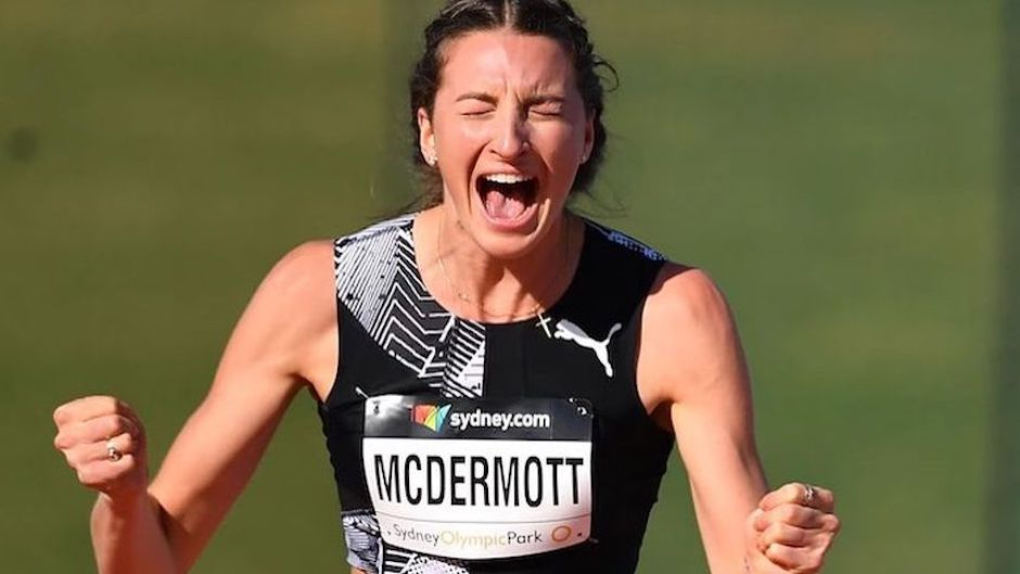 La atleta australiana Nicola McDermott. / Facebook Nicola McDermott,
