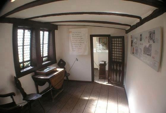 <p> Una de las habitaciones del museo de la Reforma en&nbsp;Eisenach.</p> ,