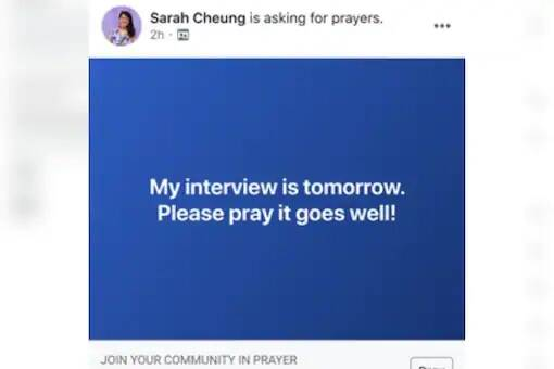 "Facebook implementa un nuevo botón para ""pedir oración"""