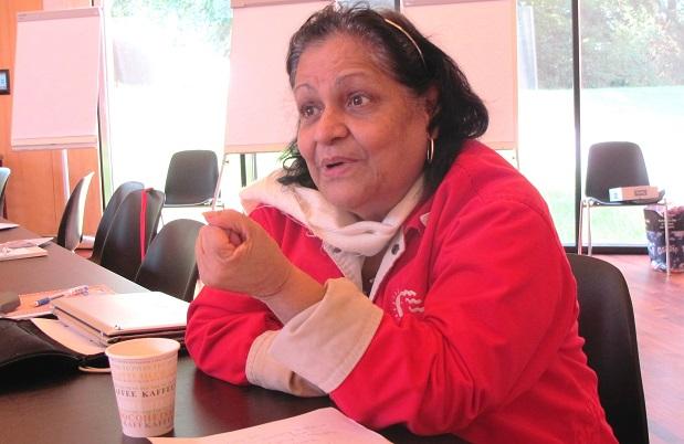<p> Nora Casta&ntilde;eda, directora de Banmujer en Venezuela, forma parte del panel de expertos. / CMI</p> ,
