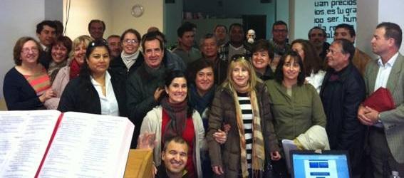 <p> Asistentes a la reuni&oacute;n del Ministerio Evang&eacute;lico en Prisiones en Madrid, el d&iacute;a 2 de noviembre. / MEP</p> ,