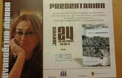 <p> Evangelina Sierra present&oacute; &#39;Esencia y Resistencia&#39; en Lugo.</p> ,