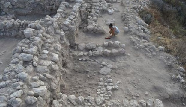 <p> Trabajos en las ruinas de Gezer, en Israel. / Haaretz</p> ,
