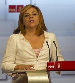 <p> Elena Valenciano (PSOE).</p> ,