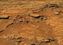 <p> El suelo de Marte analizado por el &#39;Curiosity&#39;. / Nasa, Sinc</p> ,