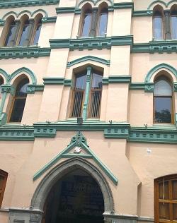 <p> Iglesia metodista de Gante n&uacute;m. 5.&nbsp;</p> ,