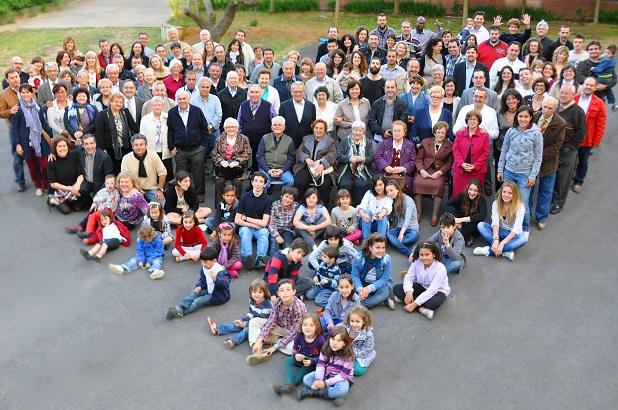 <p> Foto de grupo de la IEB Castellarnau.</p> ,