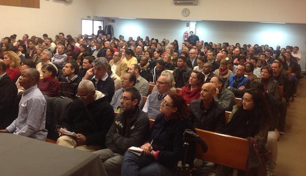 <p> Asistentes al Curso de Formaci&oacute;n de Capellanes en Madrid.</p> ,