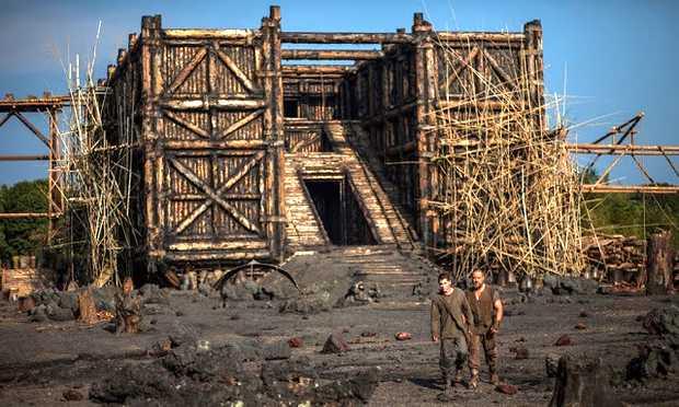 <p> El arca, tal y como se ve en la pel&iacute;cula &quot;No&eacute;&quot;</p> ,