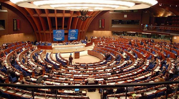 <p> Asamblea del Consejo de Europa.</p> ,