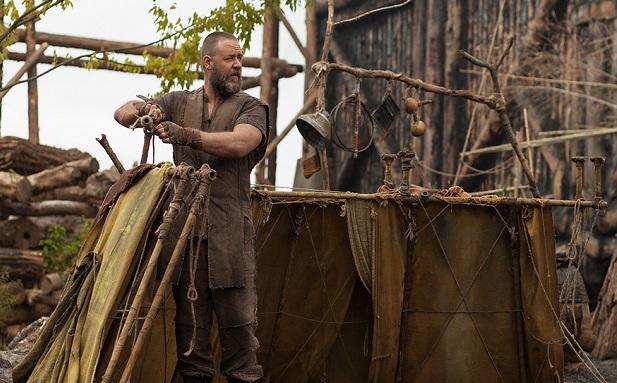 <p> Imagen de la pel&iacute;cula No&eacute;, interpretado por Russell Crowe.</p> ,