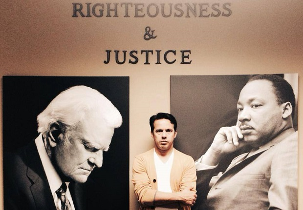 <p> Billy Graham y Martin Luther King, dos referentes para Samuel Rodr&iacute;guez.&nbsp;</p> ,