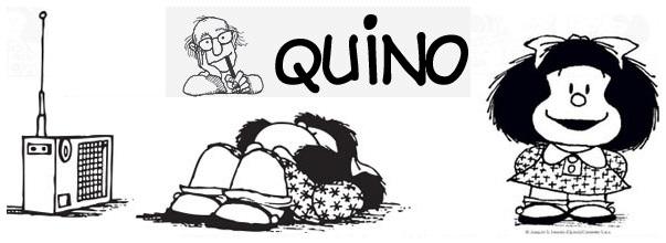 <p> Mafalda y Quino, ilustrados por Quino.</p> ,