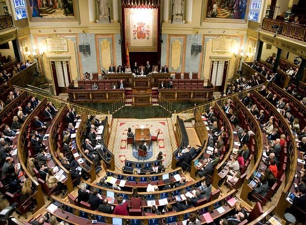 <p> Congreso de los diputados, durante una votaci&oacute;n.</p> ,
