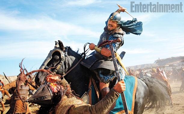 <p> Christian Bale interpretar&aacute; a Mois&eacute;s en la pel&iacute;cula &#39;Exodus: Gods and Kings&#39;. / EW</p> ,